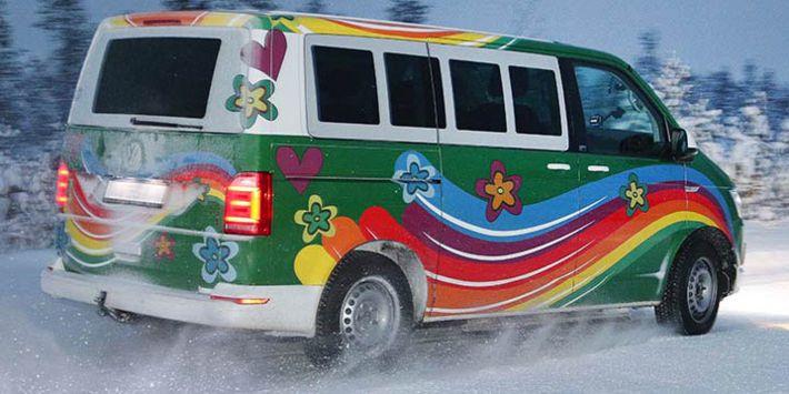 TCS ADAC'ın minibüs lastik testi