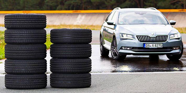 Aile otomobillerine ve uzun yol araçlarına yönelik 10 lastik, Auto Zeitung tarafından karşılaştırıldı