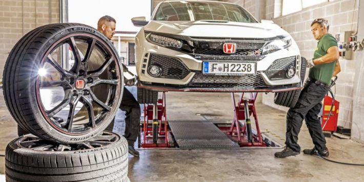 Sport Auto Honda Civic Type R UYP lastikleri testi
