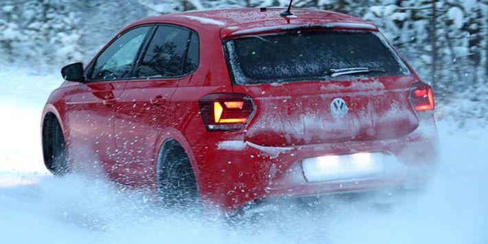 Volkswagen Polo, TCS ve ADAC'ın 2019 yılı, kış lastikleri karşılaştırmasının test aracı