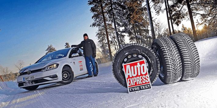 Kış lastikleri testi: Auto Express, VW Golf üzerinde bir lastik kıyaslaması gerçekleştirdi