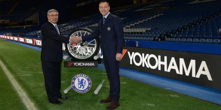 Yokohama ve Chelsea FC arasında yapılan sponsorluk anlaşması